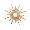 This item: Gold Leaf Starburst Wall Mirror