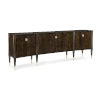 This item: Classic Brown What Is All the Buzz Entertainment Center