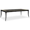 This item: Classic Brown Bon Appetit Dining Table