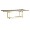 This item: Classic Brown Wish You Were Here Dining Table