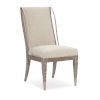 This item: Classic Beige Open Arms Side Dining Chair