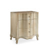 This item: Classic Gold You Are the One Nightstand
