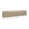 This item: Classic Tan It Is Show Time Entertainment Center