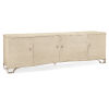 This item: Classic Ivory Inside Scoop Entertainment Center