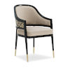 This item: Classic Beige Club Member At the Table Arm Chair