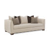 This item: Modern Streamline Beige Sofa