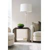 This item: Modern Streamline Brown End Table