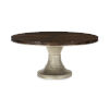 This item: Modern Streamline Brown Moderne Dining Table