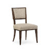 This item: Modern Streamline Beige Moderne Side Dining Chair