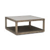 This item: Modern Fusion Gray Fusion Cocktail Table