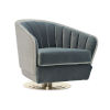 This item: Modern Edge Gray Chair