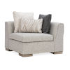 This item: Modern Edge Ivory Corner Sofa
