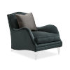 This item: Classic Black Fancy Footwork Chair