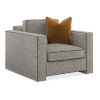 This item: Classic Gray Welt Played Club Chair