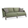 This item: Classic Gray Empress Upholstered Sofa