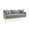 This item: Caracole Classic Gray and Soft Silver Splash of Flash Sofa