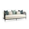 This item: Classic Ivory Lattice Entertain You Sofa
