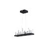 This item: Juliette Black Integrated LED 34-Inch Chandelier with K9 Clear Crystal