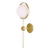This item: Da Vinci Brass 26-Inch LED Wall Sconce