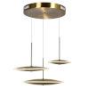 This item: Ovni Brass Three-Light LED Pendant