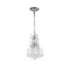 This item: Princess Chrome One-Light Mini Chandelier with K9 Clear Crystal