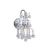 This item: Princess Chrome One-Light Wall Sconce with K9 Clear Crystal