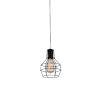 This item: Secure Black One-Light Mini Pendant