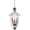This item: Maddy Oil Rubbed Brown Six-Light Chandelier