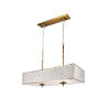 This item: Gloria French Gold Six-Light Chandelier