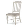 This item: Brookhaven Vintage Linen Rustic Dark Elm Side Chair, Set of Two