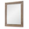 This item: Breckenridge Barley Brown Bedroom Mirror