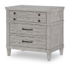 This item: Belhaven Weathered Plank Nightstand