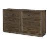 This item: Lumberton Rugged Brown Dresser