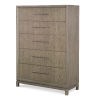 This item: Highline by Rachael Ray Greige Drawer Chest