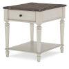 This item: Brookhaven Vintage Linen Rustic Dark Elm End Table