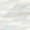 This item: Boho Rhapsody Daydream Gray and Blue Oasis Rainbow Diagonals Unpasted Wallpaper
