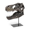 This item: Lagrane Black Replica Dinosur Tyrannosaurus T-Rex Skull Figurine