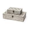 This item: Floribundus Brown Decorative Box, Set of Two