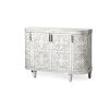 This item: Moseley Gray Wood Four Door Cabinet
