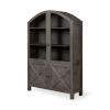 This item: Barrett Gray Solid Wood Display Cabinet