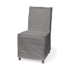 This item: Elbert I Gray Slip-Cover Parson Dining Chair