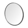 This item: Piper Black Round Wall Mirror
