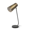 This item: Wesley II Gold and Black One-Light Table Lamp