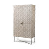 This item: Excelsior II Light Brown Storage Cabinet