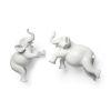 This item: Maynard White Elephant Wall Sculpture, Set of Two