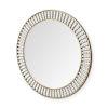 This item: Claiborne Gold Round Wall Mirror