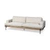 This item: Colburne II Cream Upholstered Three Seater Sofa