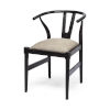 This item: Trixie I Black Dining Arm Chair
