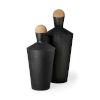 This item: Asher Black Metal Urn, Set of Two