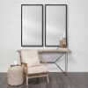 This item: Black 20 X 40 In. Wall Mirror